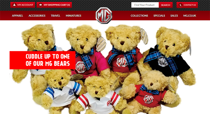 MG Motor UK Ltd. is a Shopify success story