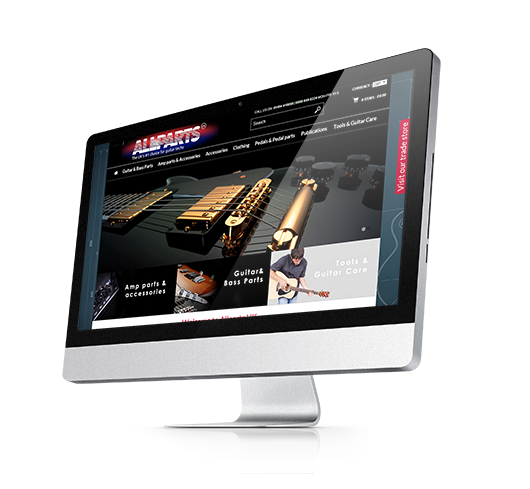 Allparts Guitar Store - Our Design is a High Note